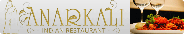 Advertising banner for Anar Kali Indian Restaurant in Rossendale