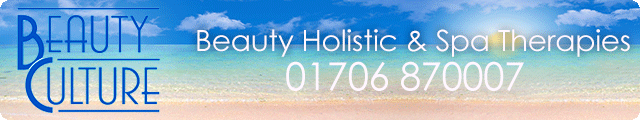 Advertising banner for Beauty Culture in Rossendale