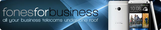 Advertising banner for Fones For Business in Rossendale